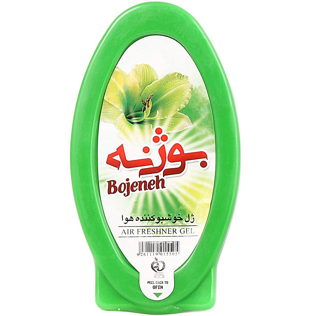 ژل خوشبو کننده هوا سبز بوژنه حجم 150 گرم