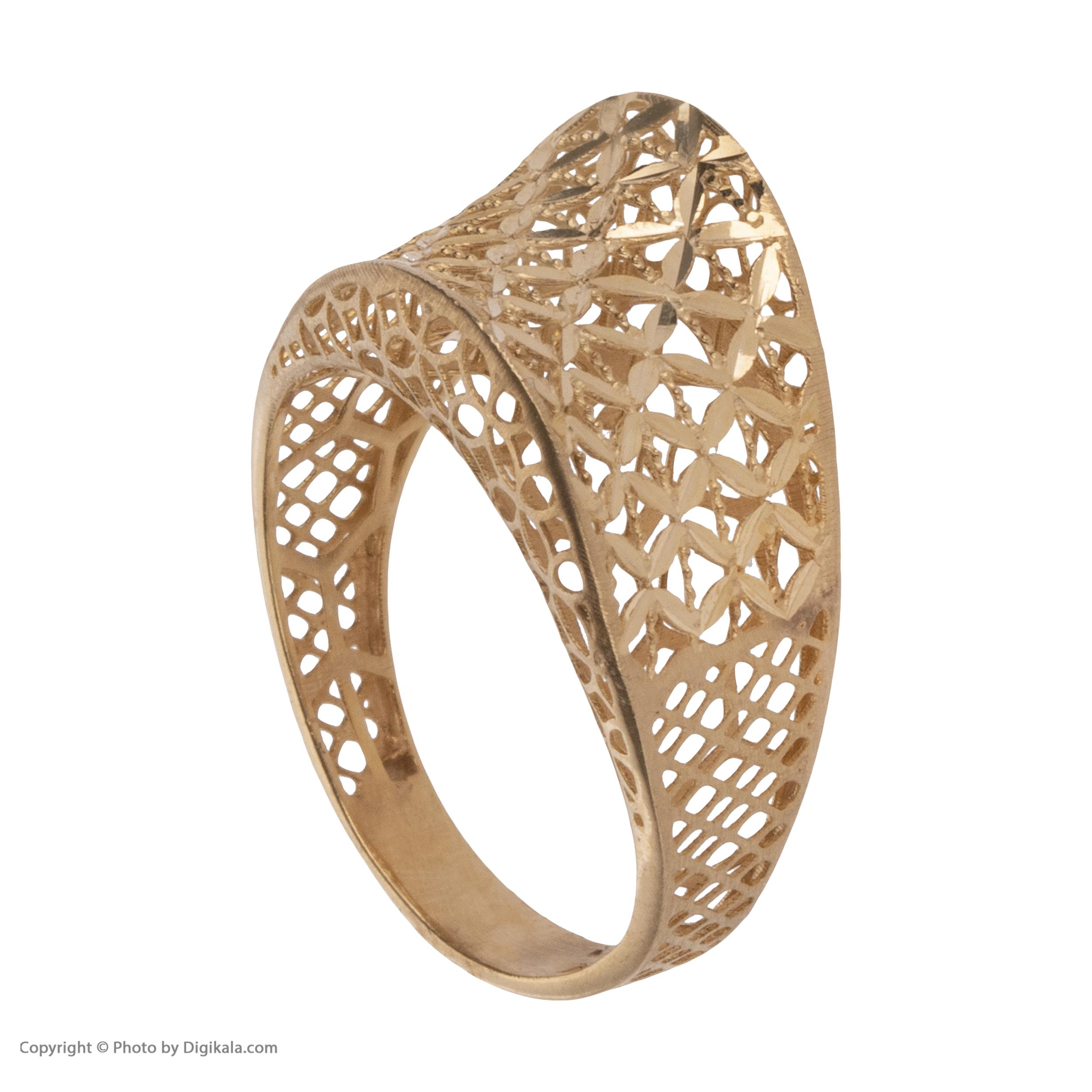 انگشتر طلا 18 عیار زنانه مایا ماهک مدل MR0380 -  - 4