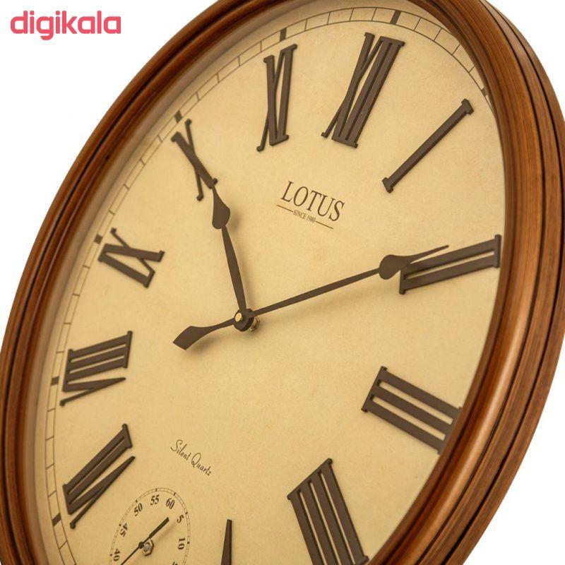 ساعت دیواری لوتوس کد BEVERLYHILLS-152-WAL main 1 3