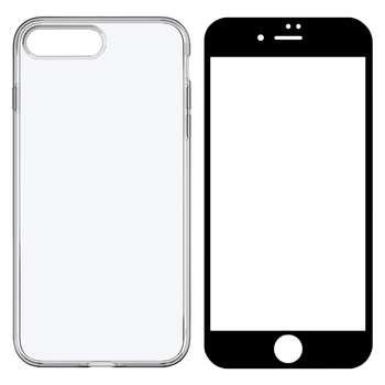 کاور مدل BLKN مناسب برای گوشی موبایل اپل iPhone 7 Plus به همراه محافظ صفحه نمایش