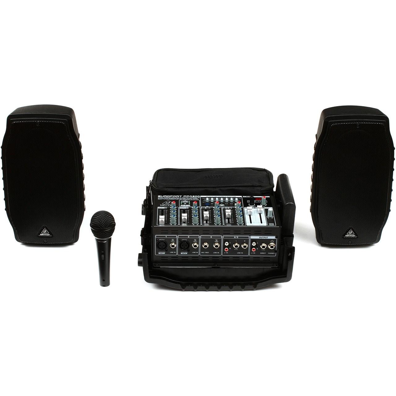 پکیچ صوتی قابل حمل بهرینگر مدل PPA200
