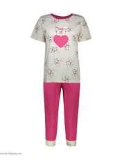 ست تی شرت و شلوارک راحتی زنانه مادر مدل 2041105-66 -  - 2