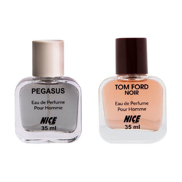 عطر جیبی مردانه نایس پاپت مدل Tom Ford حجم 35 میلی لیتر به همراه عطر جیبی مردانه نایس پاپت مدل Pegasus