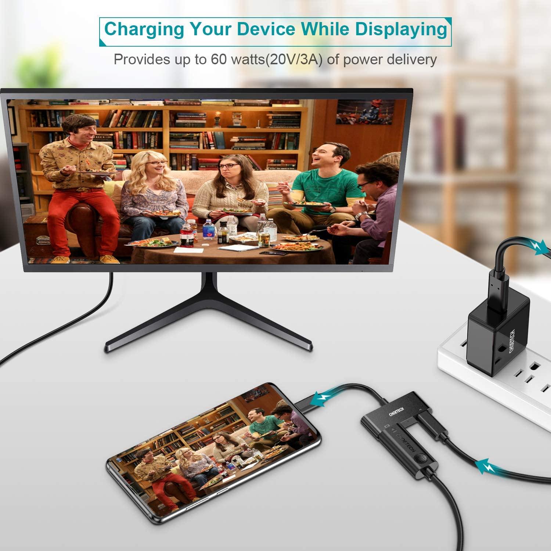 مبدل USB-C به HDMI /USB-C چویتک مدل HUB-M03