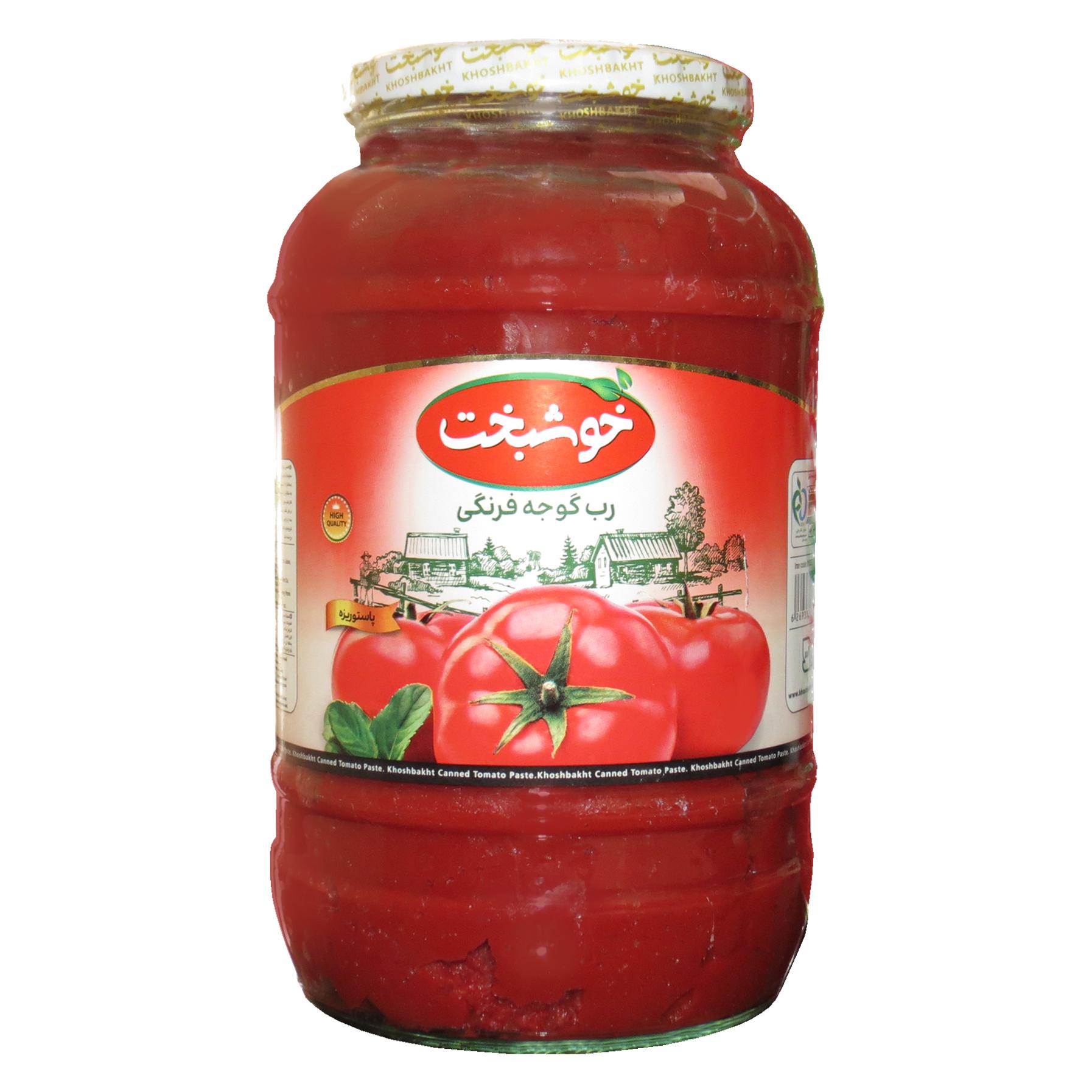 رب گوجه فرنگی خوشبخت - 1500 گرم