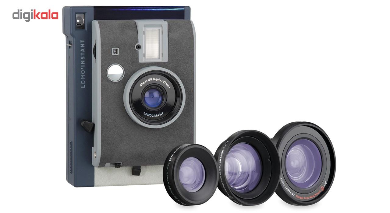 دوربین چاپ سریع لوموگرافی مدل Lake Tahoe به همراه سه لنز