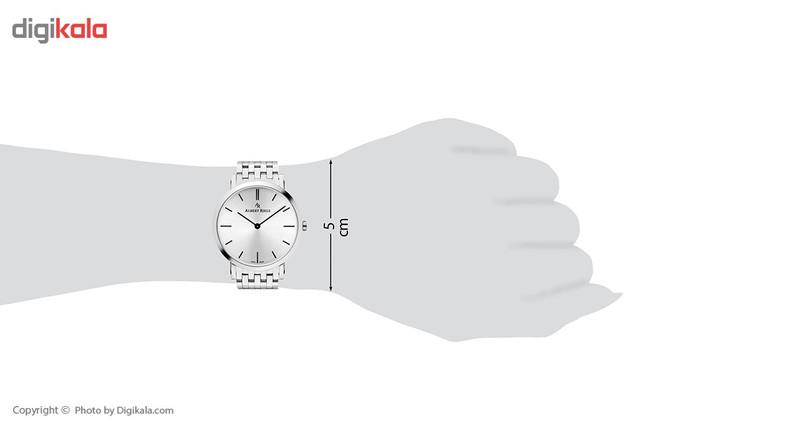 ساعت مچی عقربه ای آلبرت ریله مدل 018UQ19-SS33I-SS