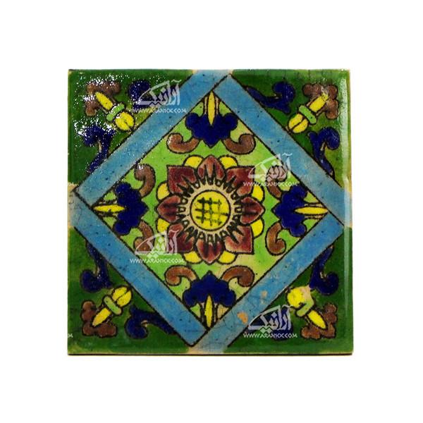 کاشی هفت رنگ  طرح گل مدل 1118800006