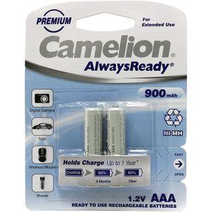 باتری نیم قلمی قابل شارژ کملیون مدل Always Ready بسته 2 عددی