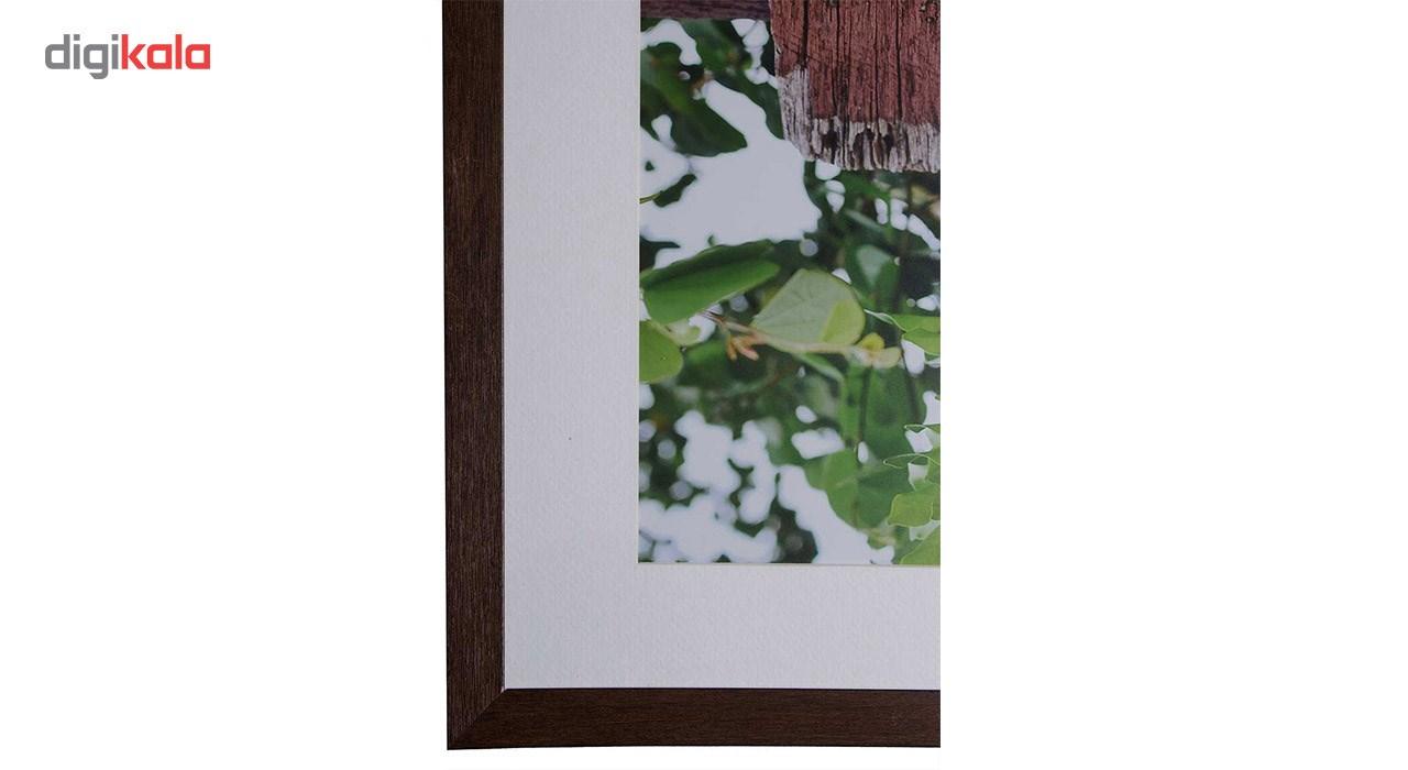 تابلو عکس گالری مگی طرح پرچین 50 × 70 سانتیمتر کد M104