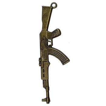 آویز گردنبند طرح اسلحه کلاش کد RCC-12