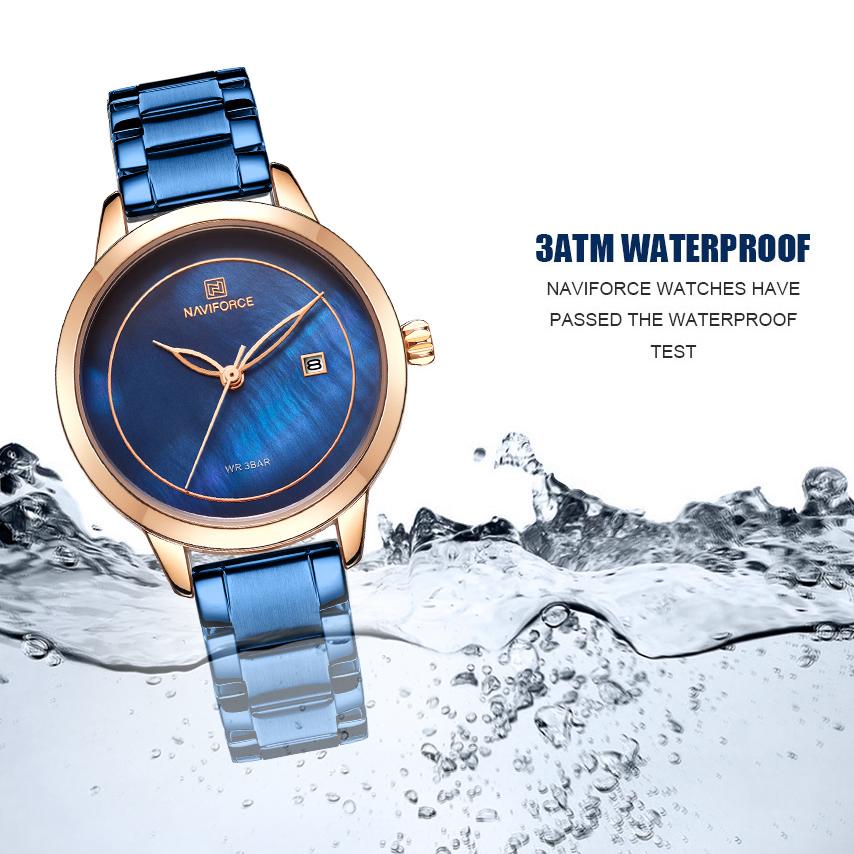 خرید و قیمت                      ساعت مچی  زنانه نیوی فورس مدل NF5008L - SO-RZ