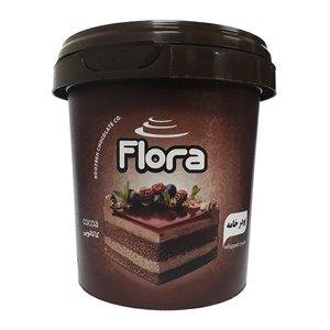 پودر خامه کیک و شیرینی با طعم کاکائو فلورا - 200 گرم