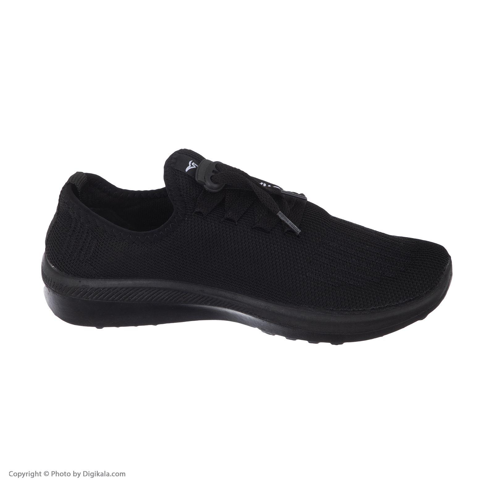 کفش راحتی چابک مدل آرشام رنگ مشکی -  - 5