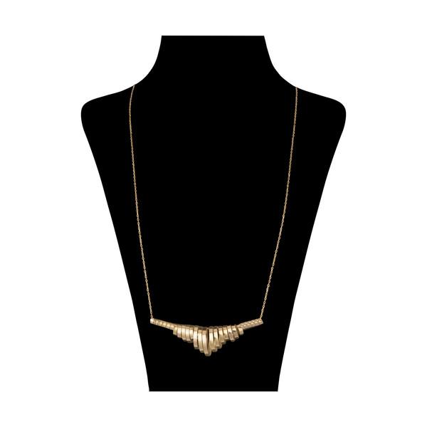 گردنبند طلا 18 عیار زنانه سنجاق مدل X071304