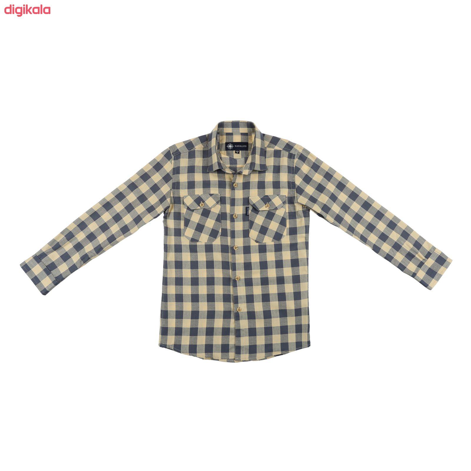 پیراهن پسرانه ناوالس کد D-20119-YLGY main 1 1