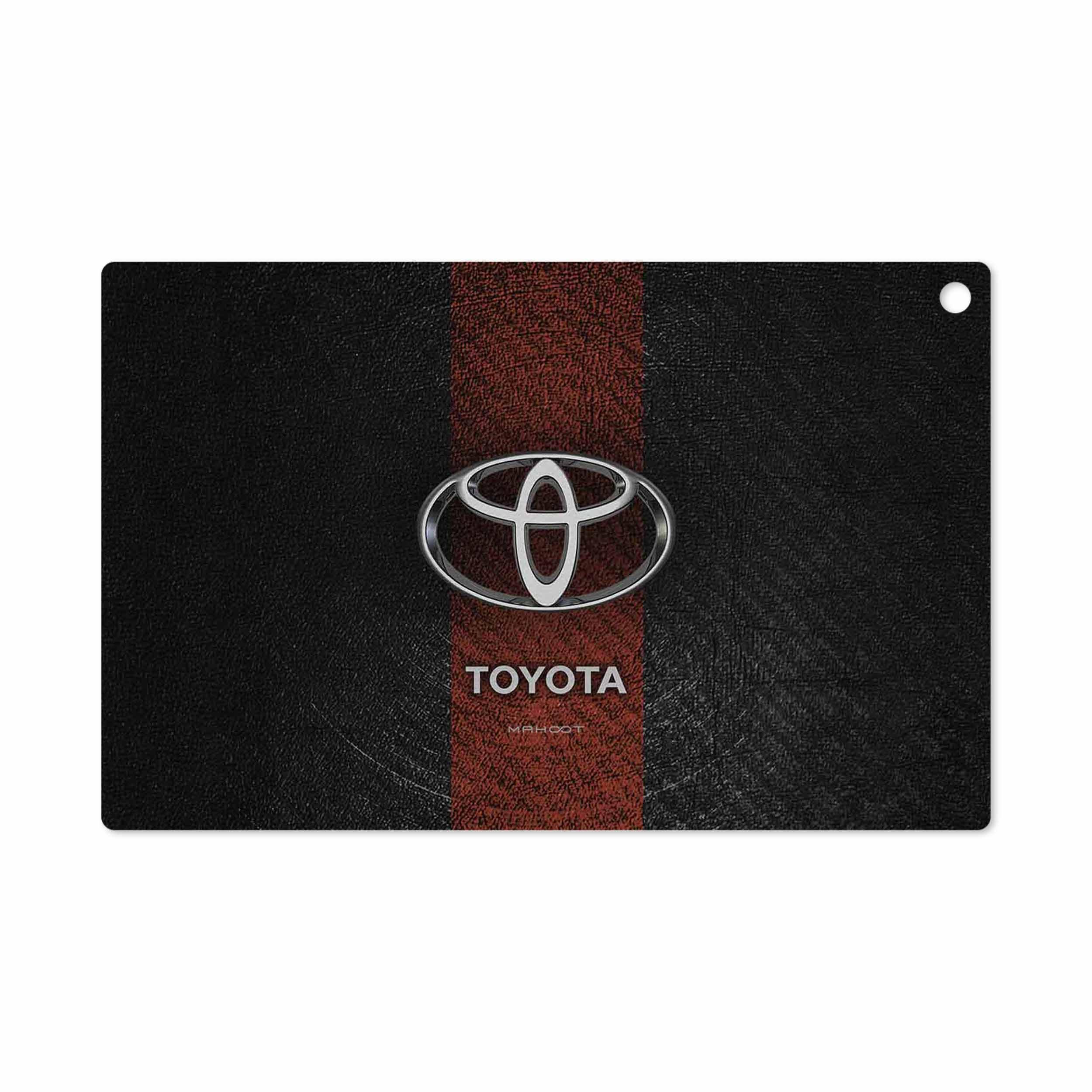 بررسی و خرید [با تخفیف]                                     برچسب پوششی ماهوت مدل TOYOTA-Logo مناسب برای تبلت سونی Xperia Z2 Tablet LTE 2014                             اورجینال