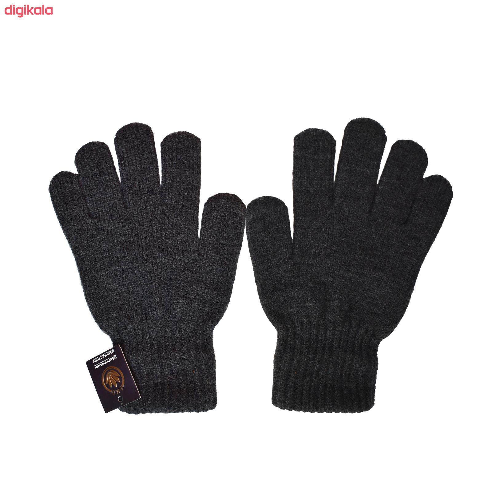 دستکش بافتنی تولیدی منوچهری کد uit56 main 1 1