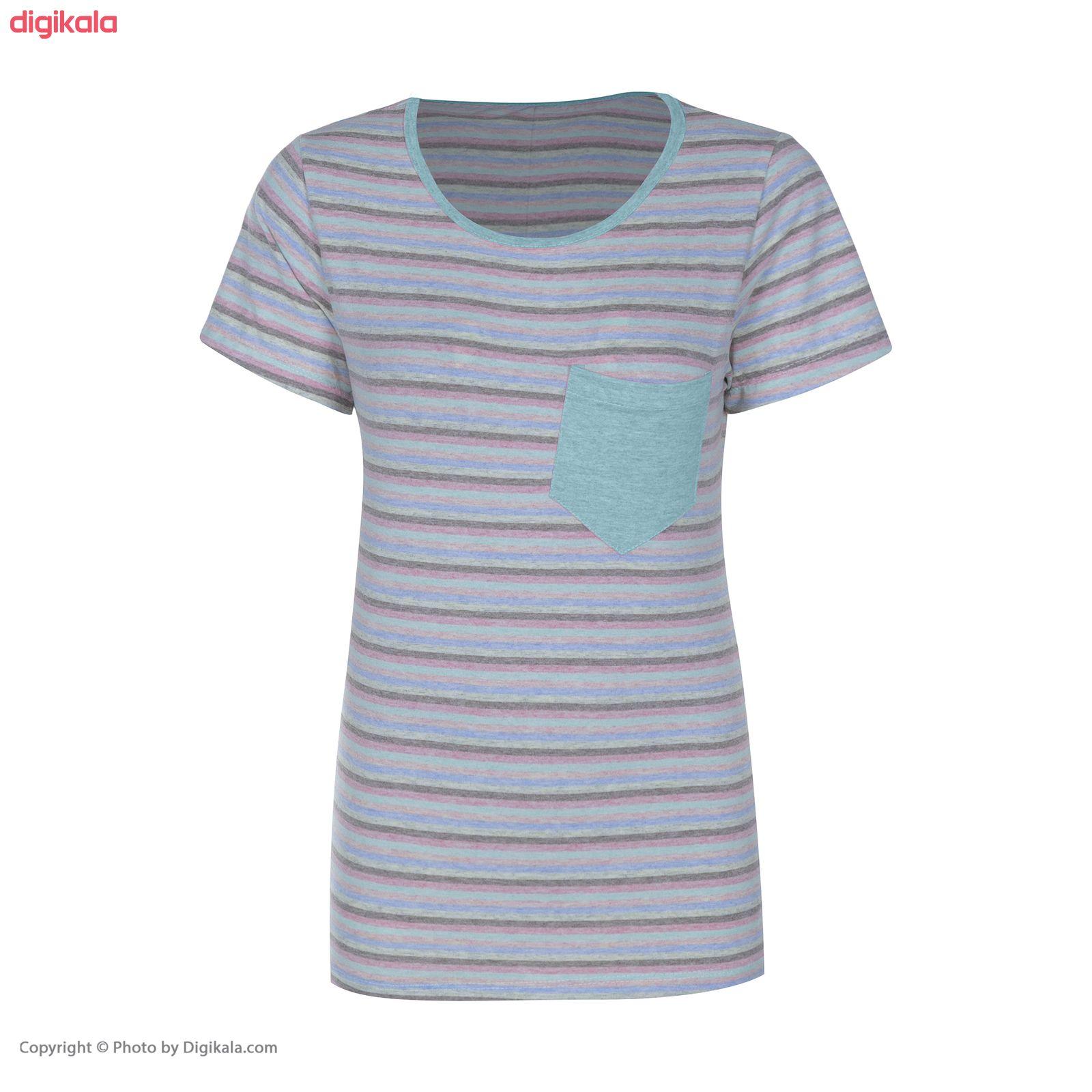 ست تی شرت و شلوار زنانه مدل M1 main 1 6