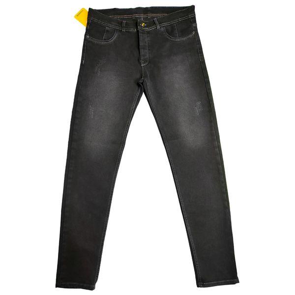 شلوار جین مردانه مدل 0044 رنگ ذغالی