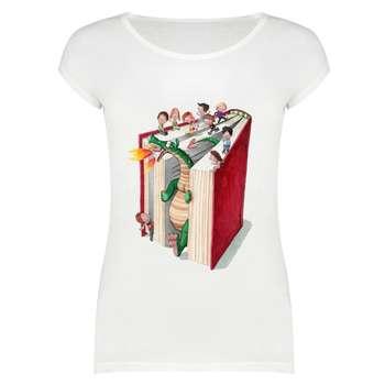 تی شرت زنانه کد SKH0004_214