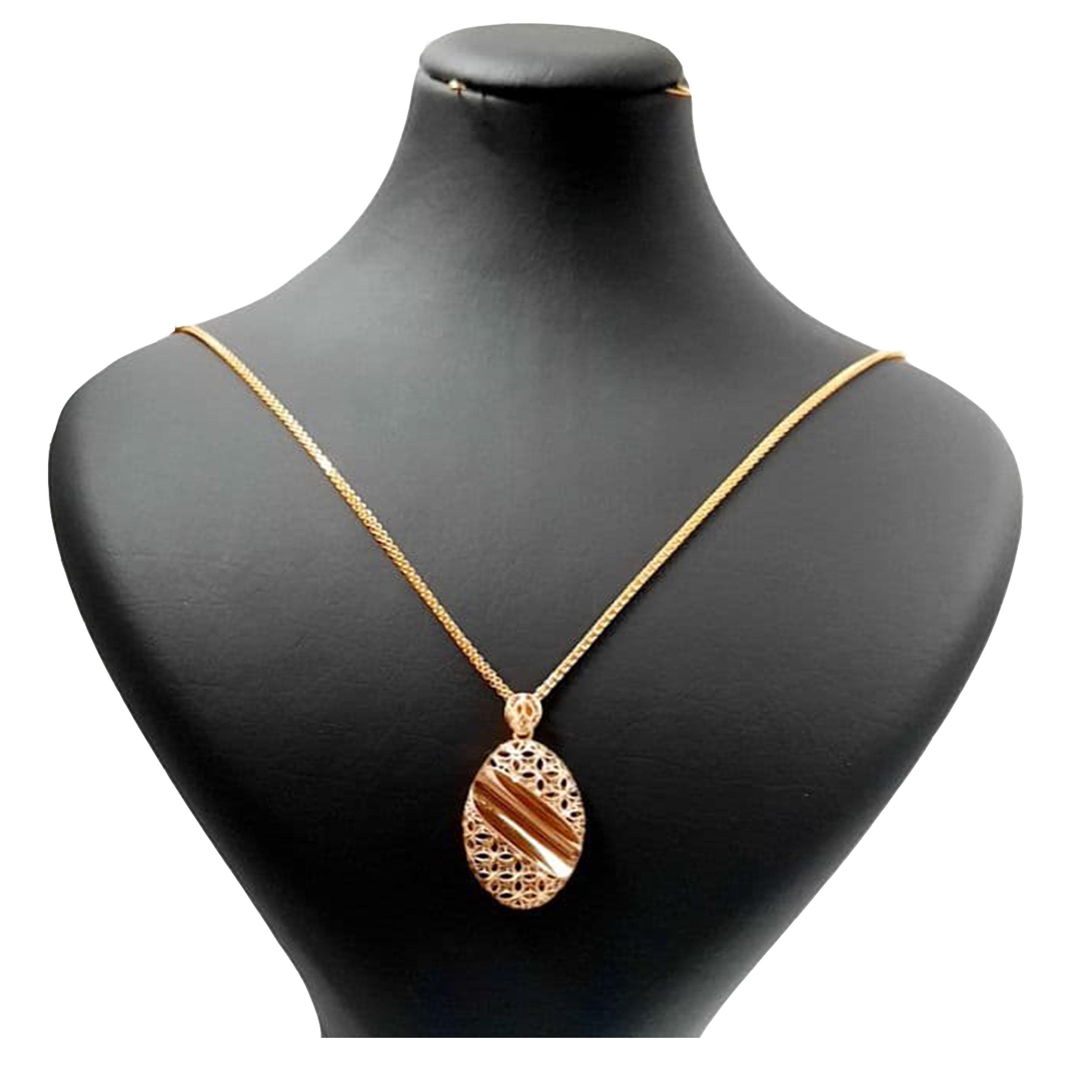 گردنبند طلا 18 عیار زنانه  گالری یارطلا کد PL31Z