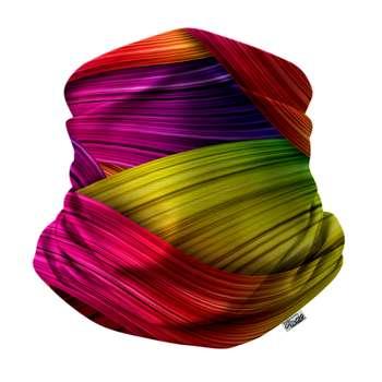 دستمال سر و گردن هزاردستان طرح خطوط رنگی مدل das31