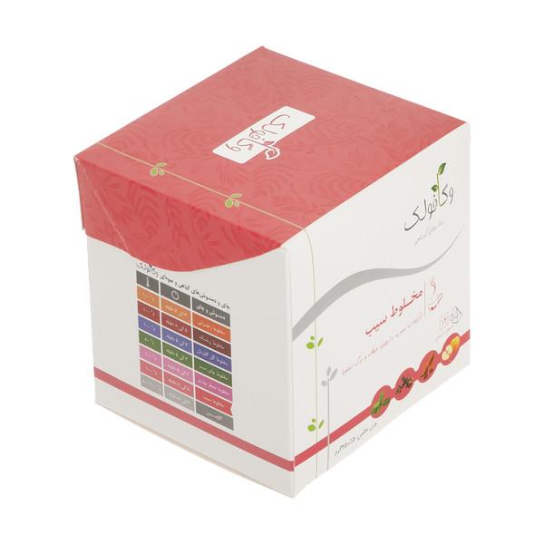 دمنوش مخلوط سیب وگافولک - 35 گرم بسته 14 عددی