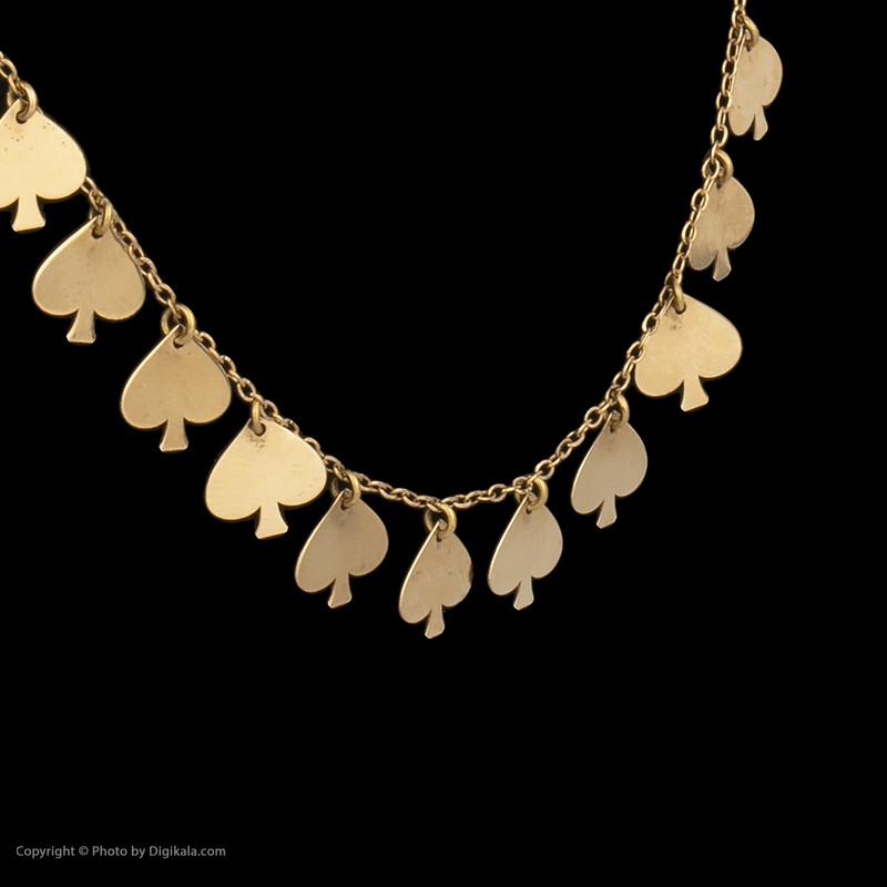گردنبند طلا 18 عیار زنانه میو گلد مدل GD618