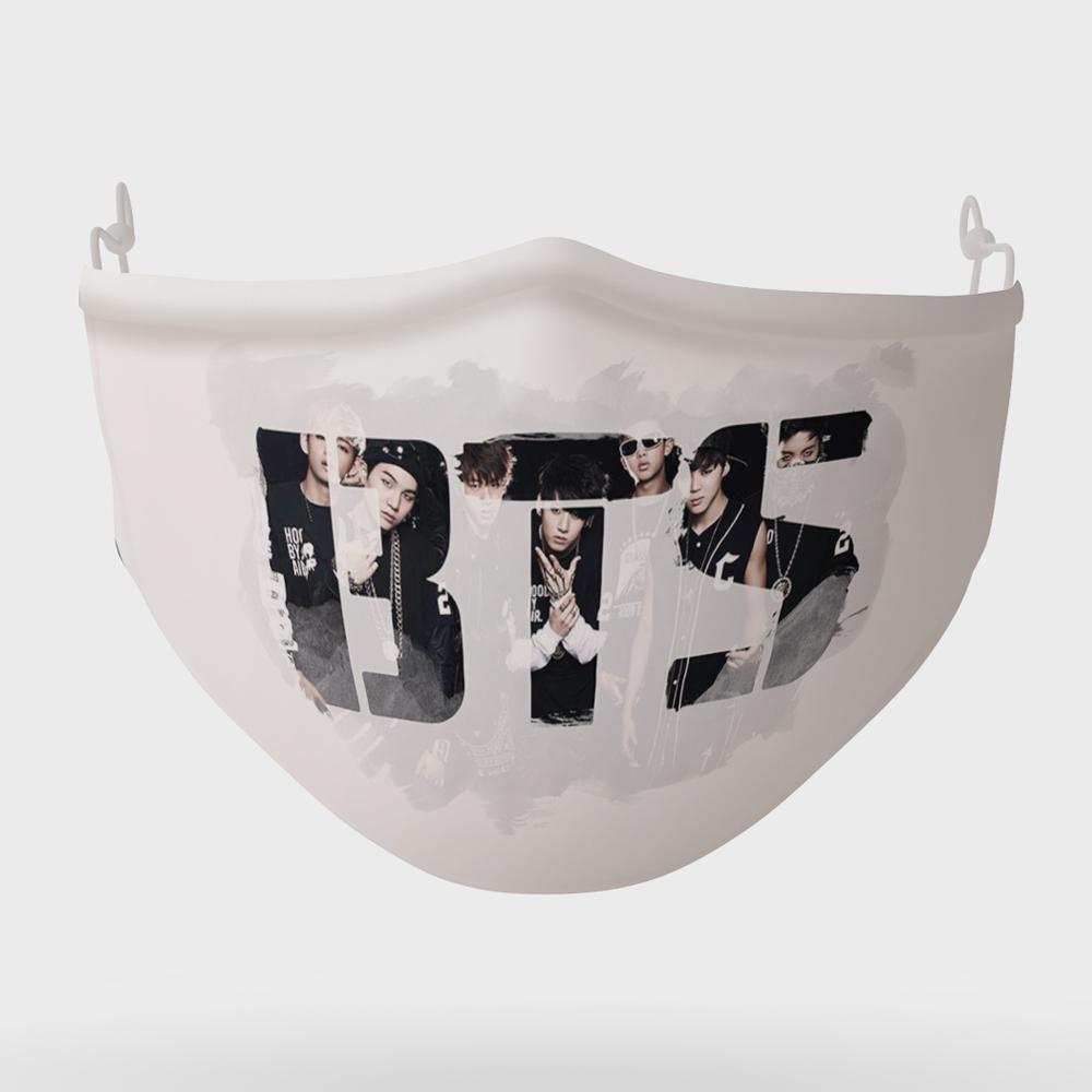ماسک تزیینی مدل BTS بی تی اس کد 056