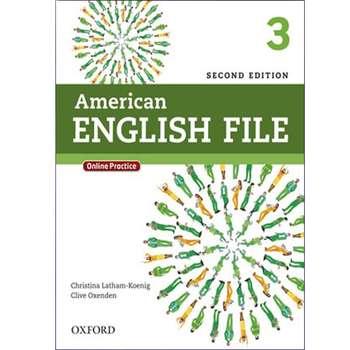 کتاب American English File 3 2nd اثر جمعی از نویسندگان انتشارات هدف نوین