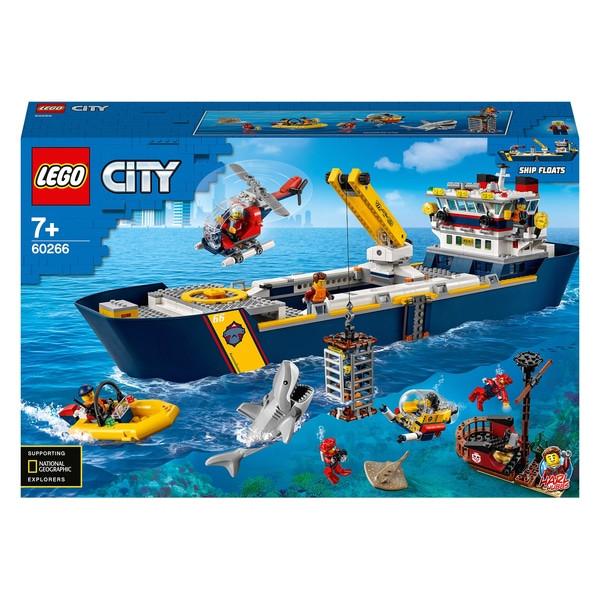 لگو مدل کشتی اکتشاف اقیانوس