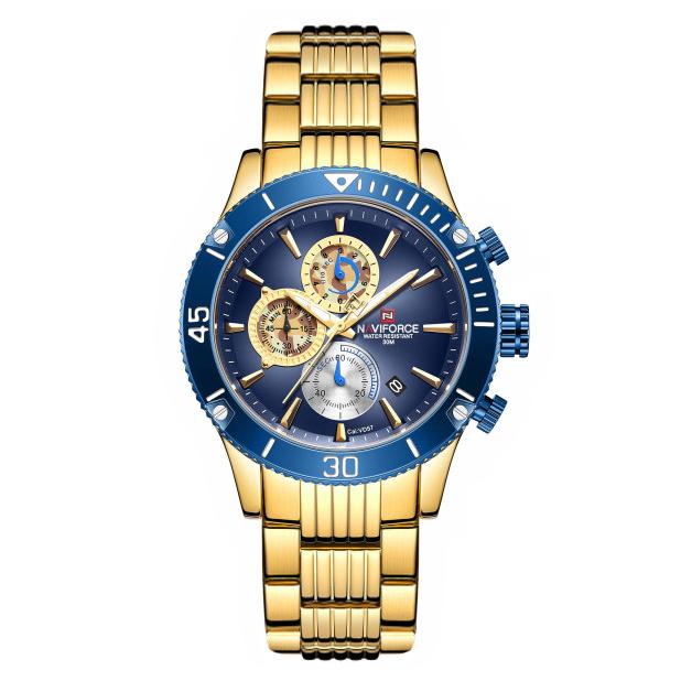 قیمت و خرید                      ساعت مچی عقربهای مردانه نیوی فورس مدل NF9173M - TA-AB