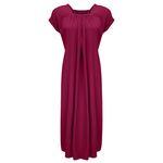 پیراهن زنانه مدل BR011 رنگ زرشکی thumb
