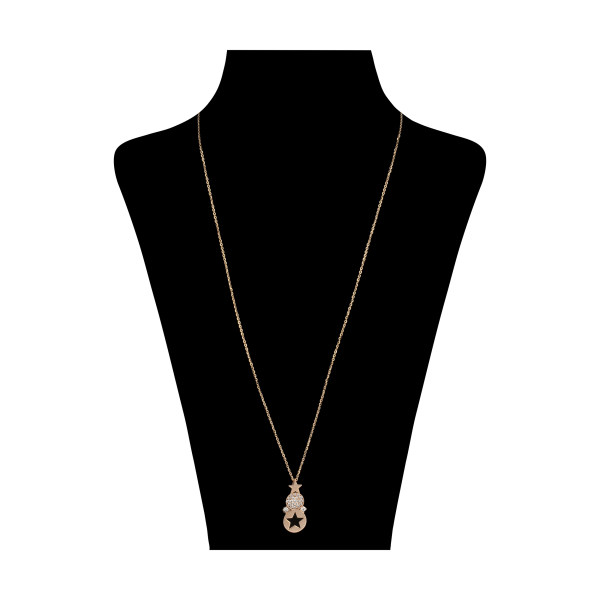 گردنبند طلا 18 عیار زنانه مایا ماهک مدل MM1293