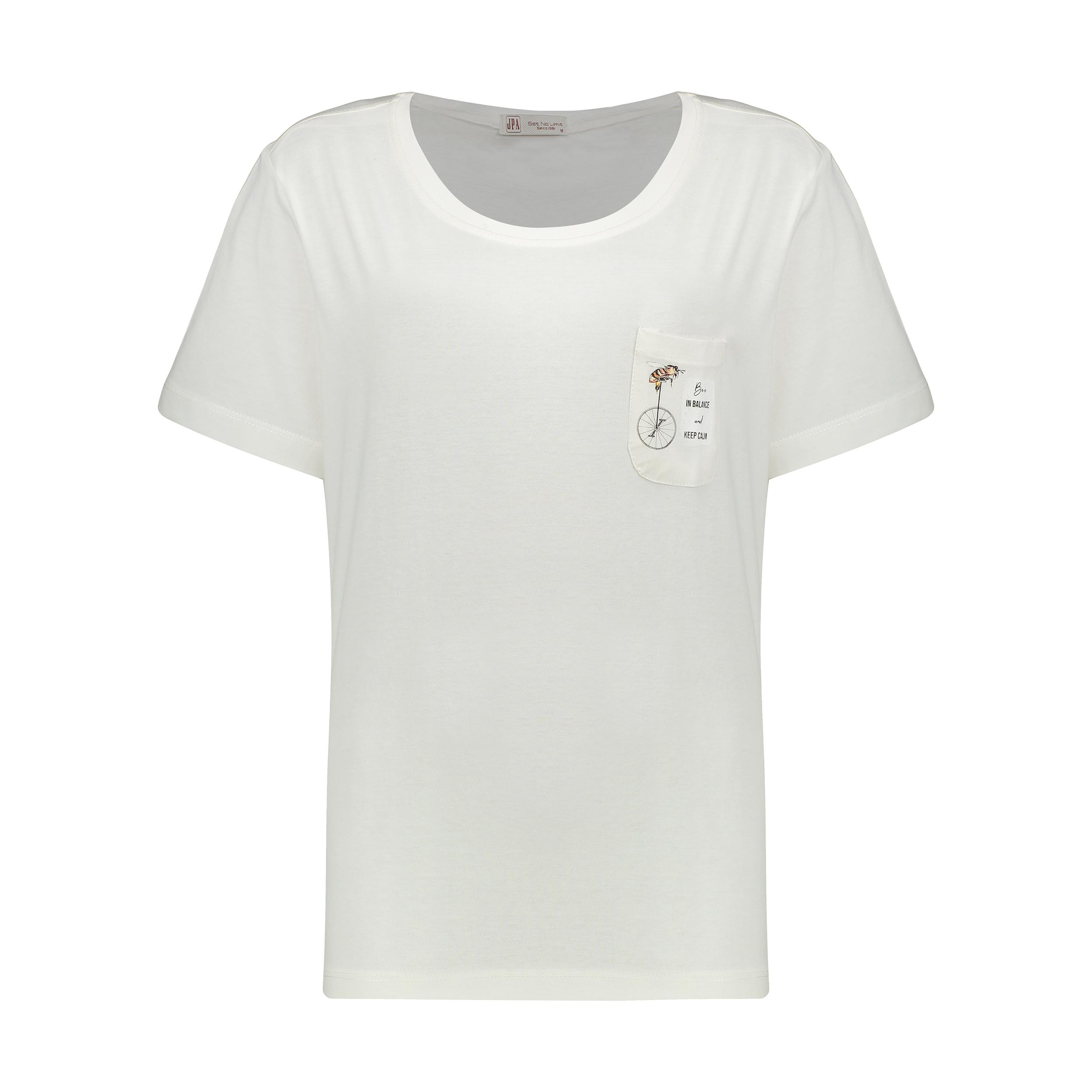 تی شرت زنانه جامه پوش آرا مدل 4012019475-05