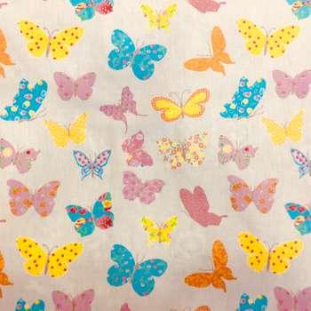 پارچه ملحفه مدل butterfly كد 1