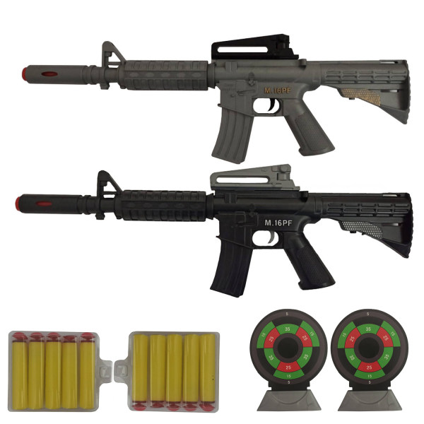 تفنگ بازی گلدن گان مدل naaell25 مجموعه 6 عددی