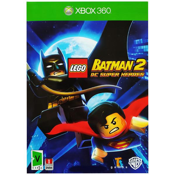 بازی لگو بتمن 2مخصوص XBOX360