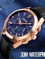 ساعت مچی عقربه ای مردانه اسکمی مدل 9127A-NP -  - 4
