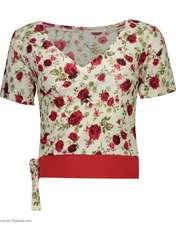 ست تی شرت و شلوارک زنانه کد 002 -  - 2