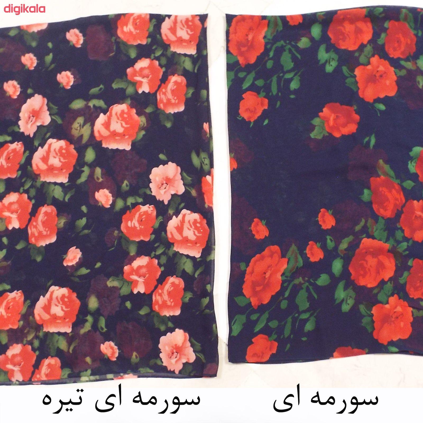 روسری زنانه تبسم کد 1011101 main 1 7
