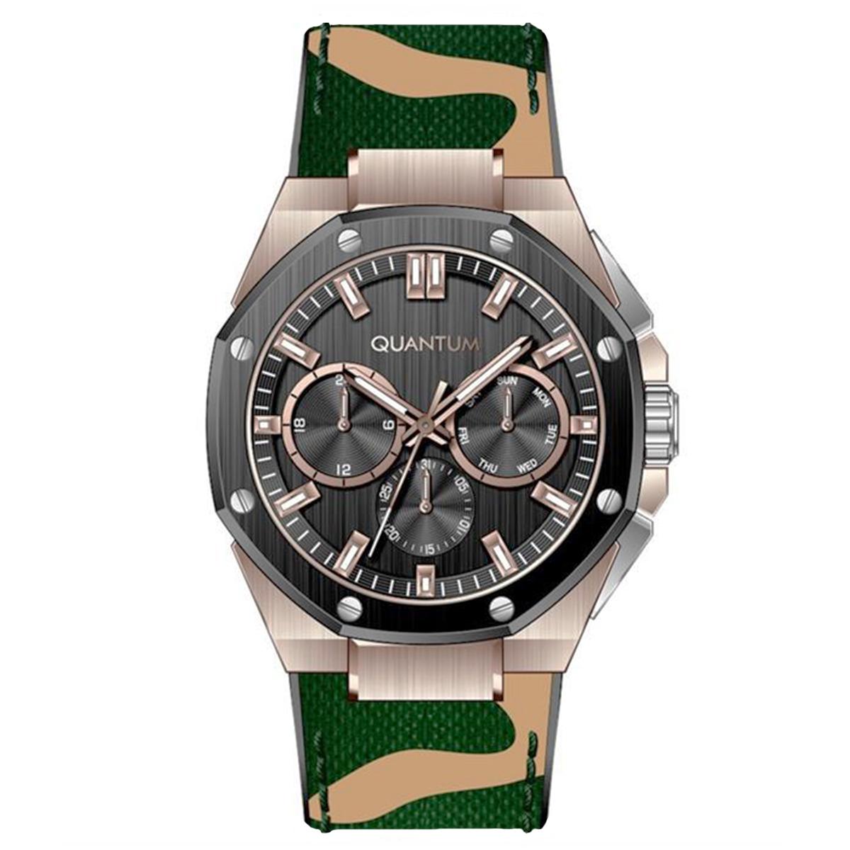 قیمت                      ساعت مچی عقربه ای مردانه کوانتوم مدل HNG921.855
