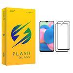 محافظ صفحه نمایش فلش مدل +HD مناسب برای گوشی موبایل سامسونگ Galaxy A30s بسته دو عددی