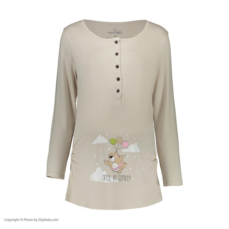 ست تی شرت و شلوار بارداری ناربن مدل 1521296-12