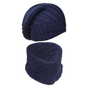 ست کلاه و شال گردن بافتنی سام مدل 116 کد 30779