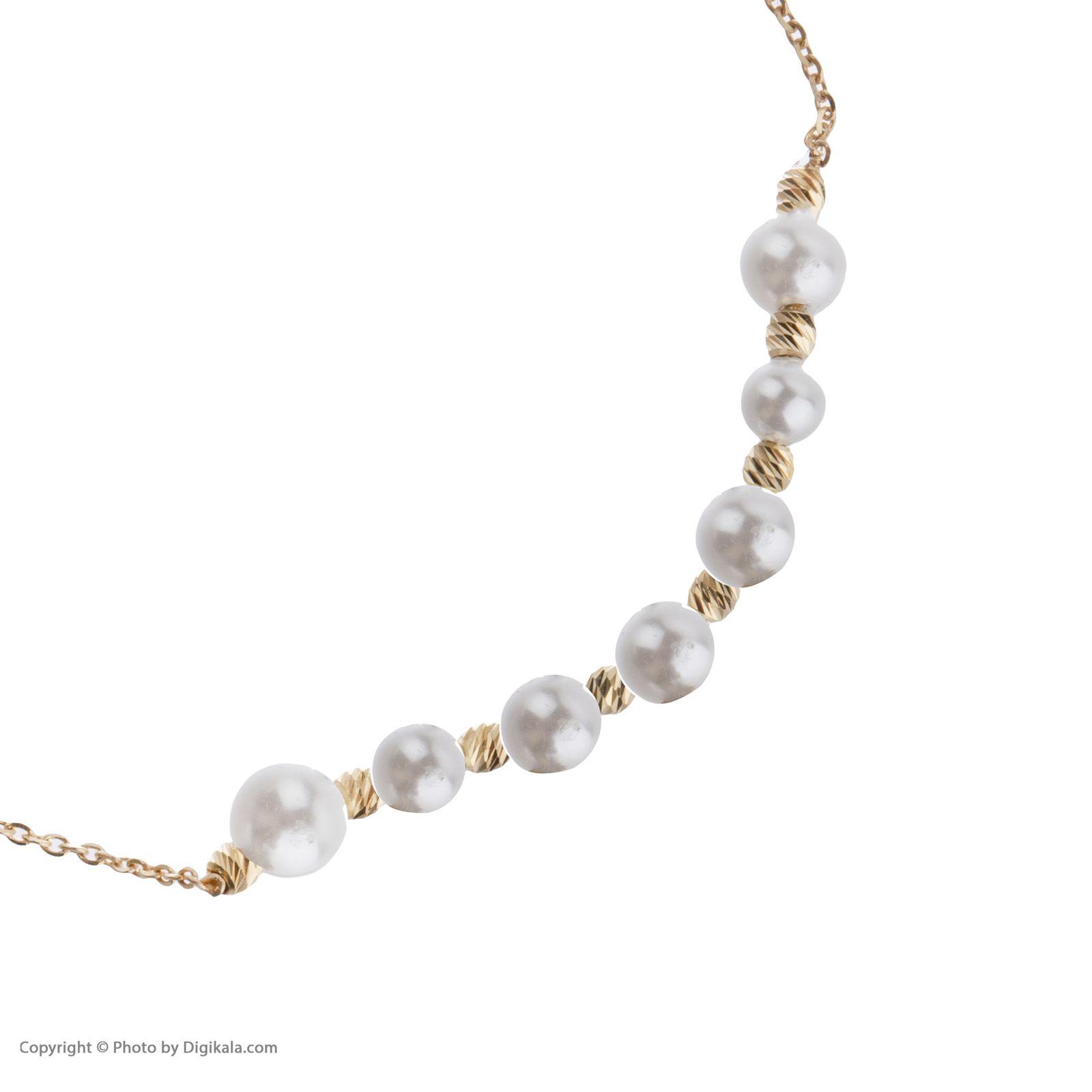 دستبند طلا 18 عیار زنانه سیودو مدل 144831 -  - 4