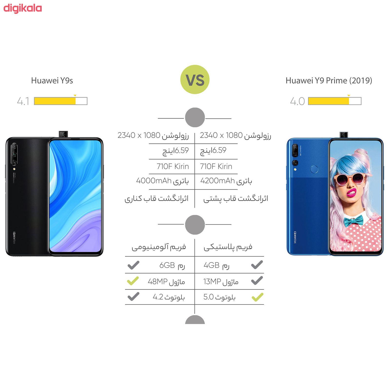 گوشی موبایل هوآوی مدل Y9 Prime 2019 STK-L21 دو سیم کارت ظرفیت 128 گیگابایت main 1 15