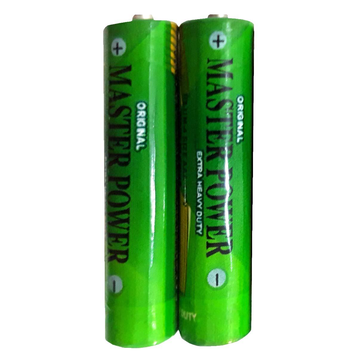 بررسی و {خرید با تخفیف}                                     باتری نیم قلمی مستر پاور کد 01 بسته 2 عددی                             اصل