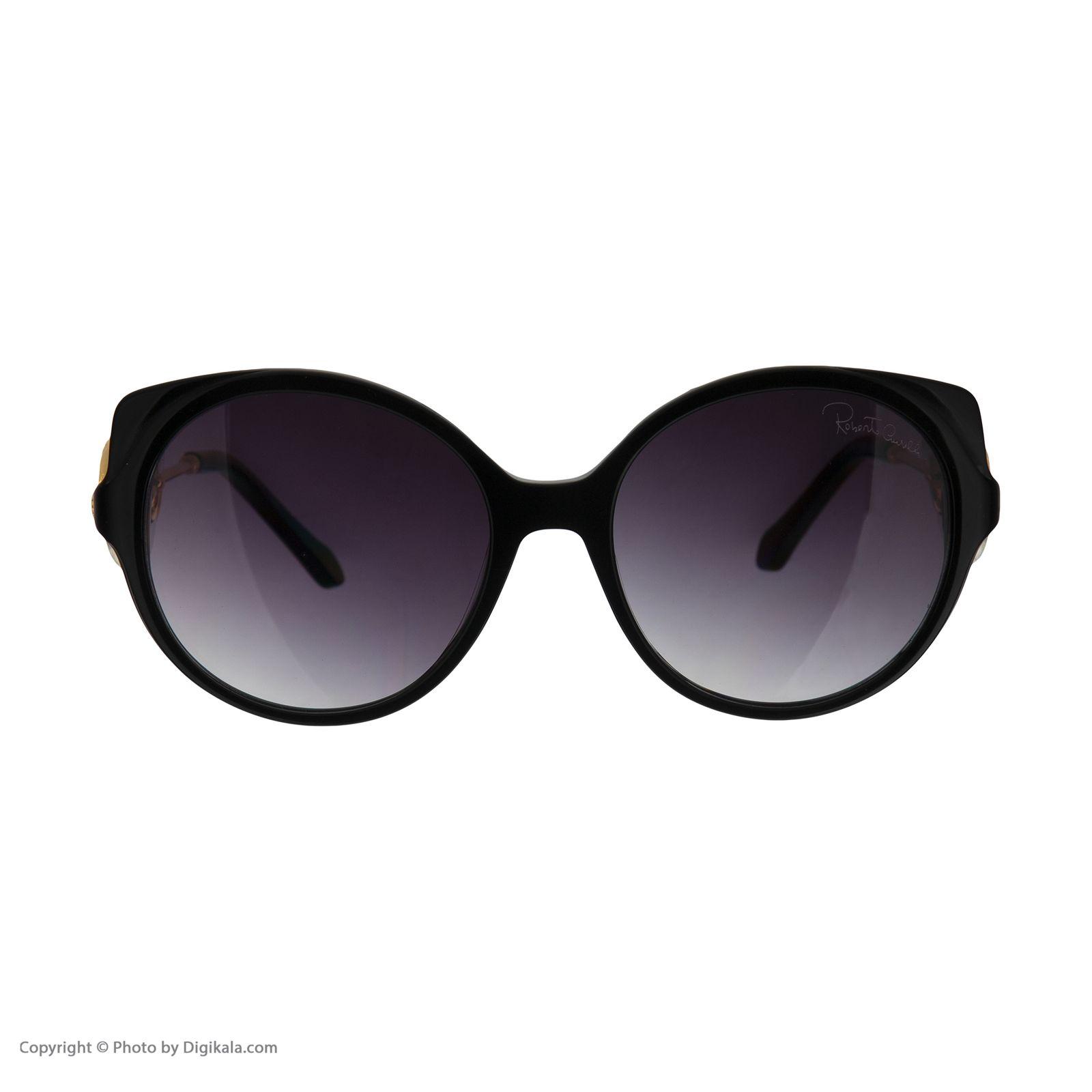 عینک آفتابی زنانه روبرتو کاوالی مدل 1035 -  - 6